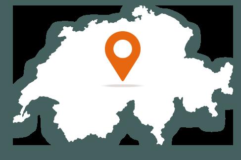 Karte Schweiz